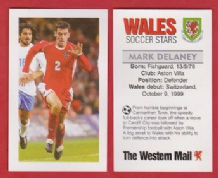 Wales Mark Delaney Aston Villa